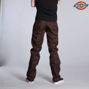 DICKIES 873 COUPE DROITE CHOCOLAT