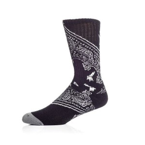 SOCIETY SOCKS BLACK
