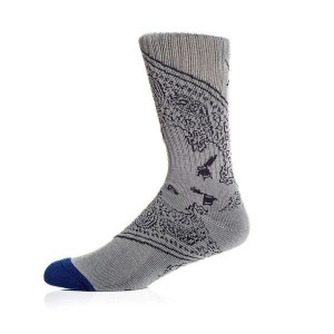 SOCIETY SOCKS GRAY