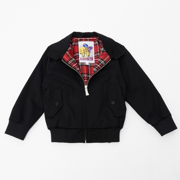 BLOUSON HARRINGTON KIDS NOIR