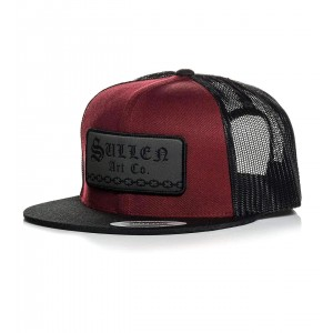 Casquette HARD TIME SNAPBACK BURGUNDY