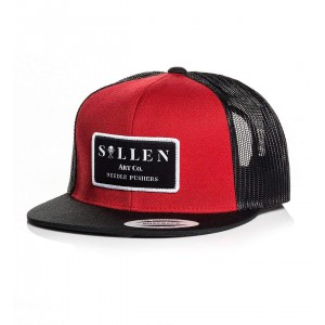 Casquette PUSHIN' NEEDLES SNAPBACK RED