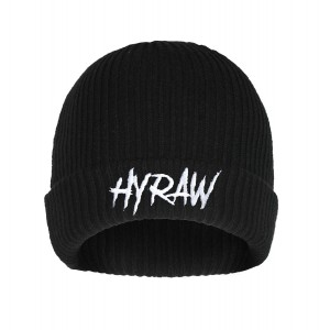 BONNET HYRAW BLACK SKULL