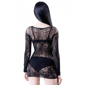 CERES CHAOS LACE BODYCON