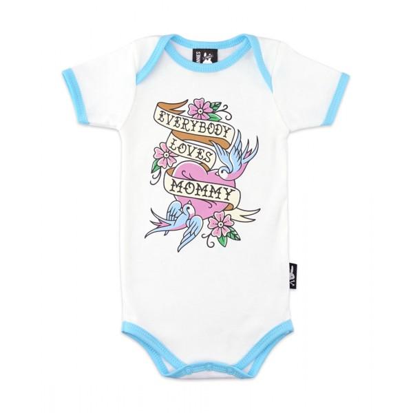 EVERYBODY LOVES MOMMY (ensemble cadeau pour bébé)