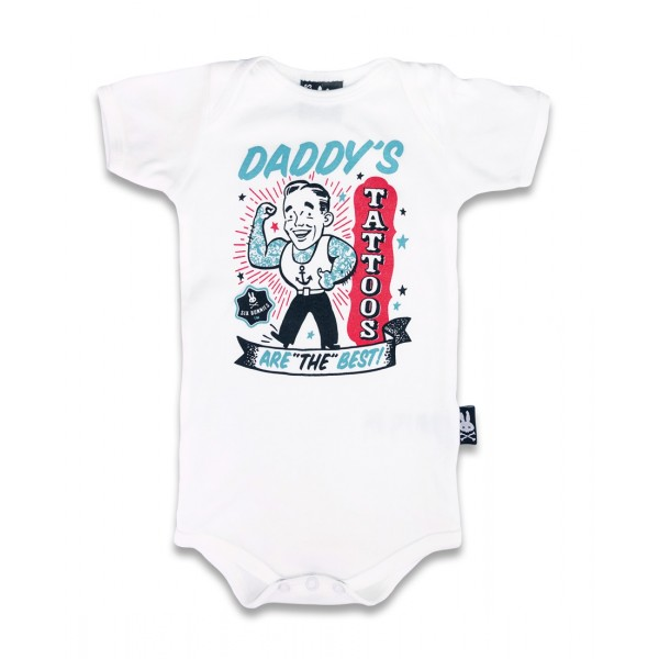 DADDY'S TATTOOS (ensemble cadeau pour bébé)