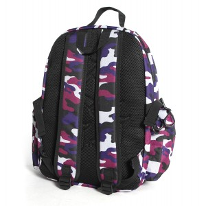 SAC A DOS BADGE CAMO VIOLET