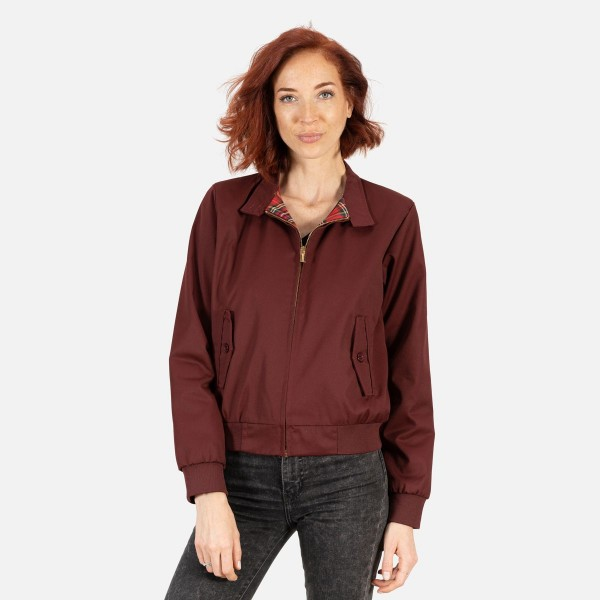 BLOUSON HARRINGTON FEMME ORIGINAL BORDEAUX