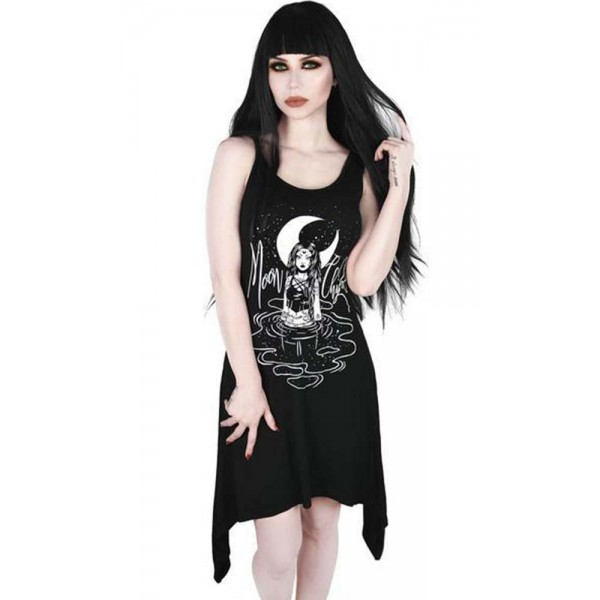 MOON CHILD LACED UP TUNIC