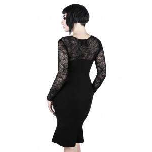 BAT TO THE BONE BODYCON DRESS