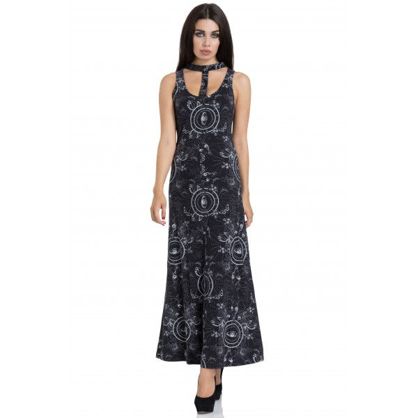 ETHEREAL NATURE MAXI DRESS