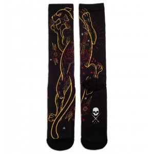 GOLDEN PANTHER SOCKS