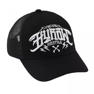 CASQUETTE TRUCKER BLACK ORIGIN