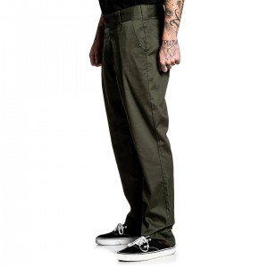 CHINO STREACH PANTS OLIVE