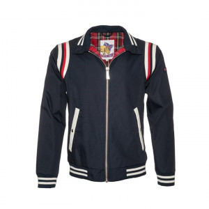 BLOUSON HARRINGTON BOWLING NAVY