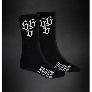 CHAUSSETTES 666 CLASSIC WHITE