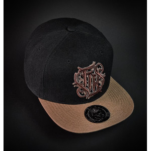 CASQUETTE SKULL AND ROSES