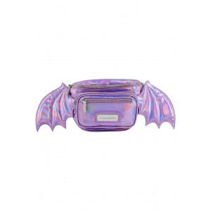 SICKLY SWEET WAISTBAG (HOLOGRAPHIC LILAC)