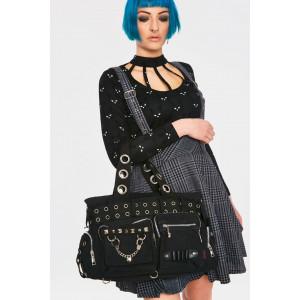 HANDCUFFS PLAIN BLACK BAG